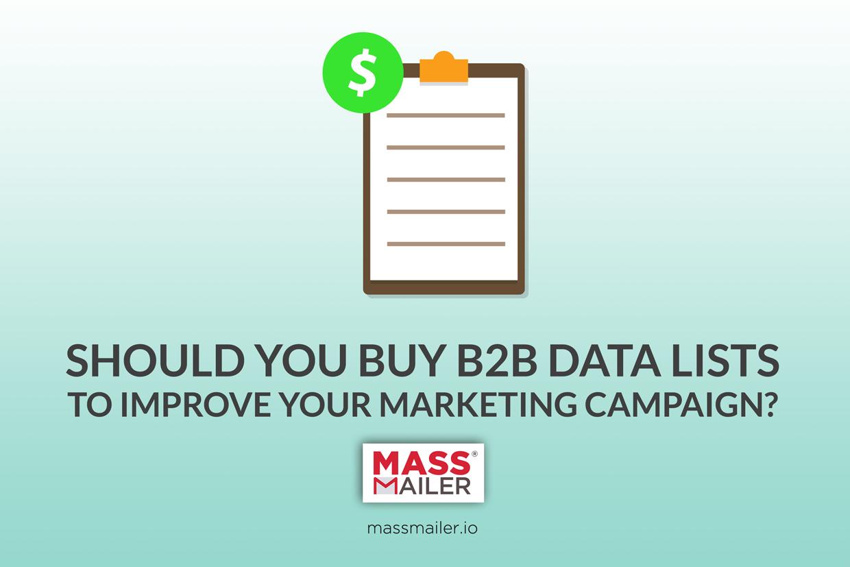 Should You Buy B2B DataLists