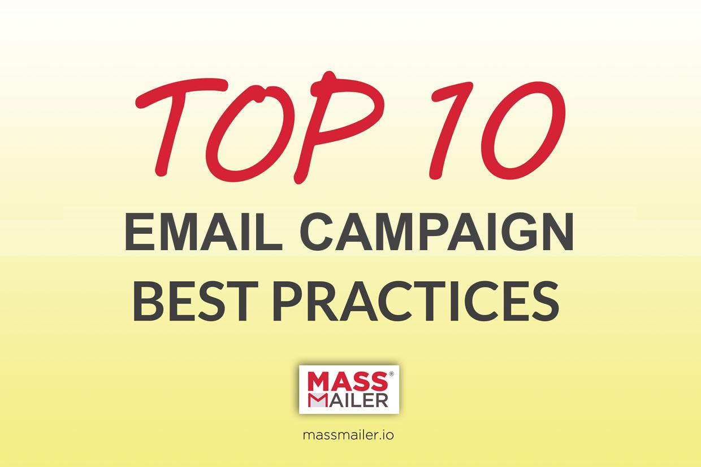 Top 10Email Newsletter Design BestPractices