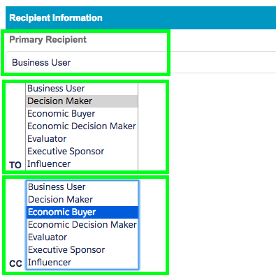 Select Recipients while sending Mass Emails To Opportunity Contact Roles in Salesforce