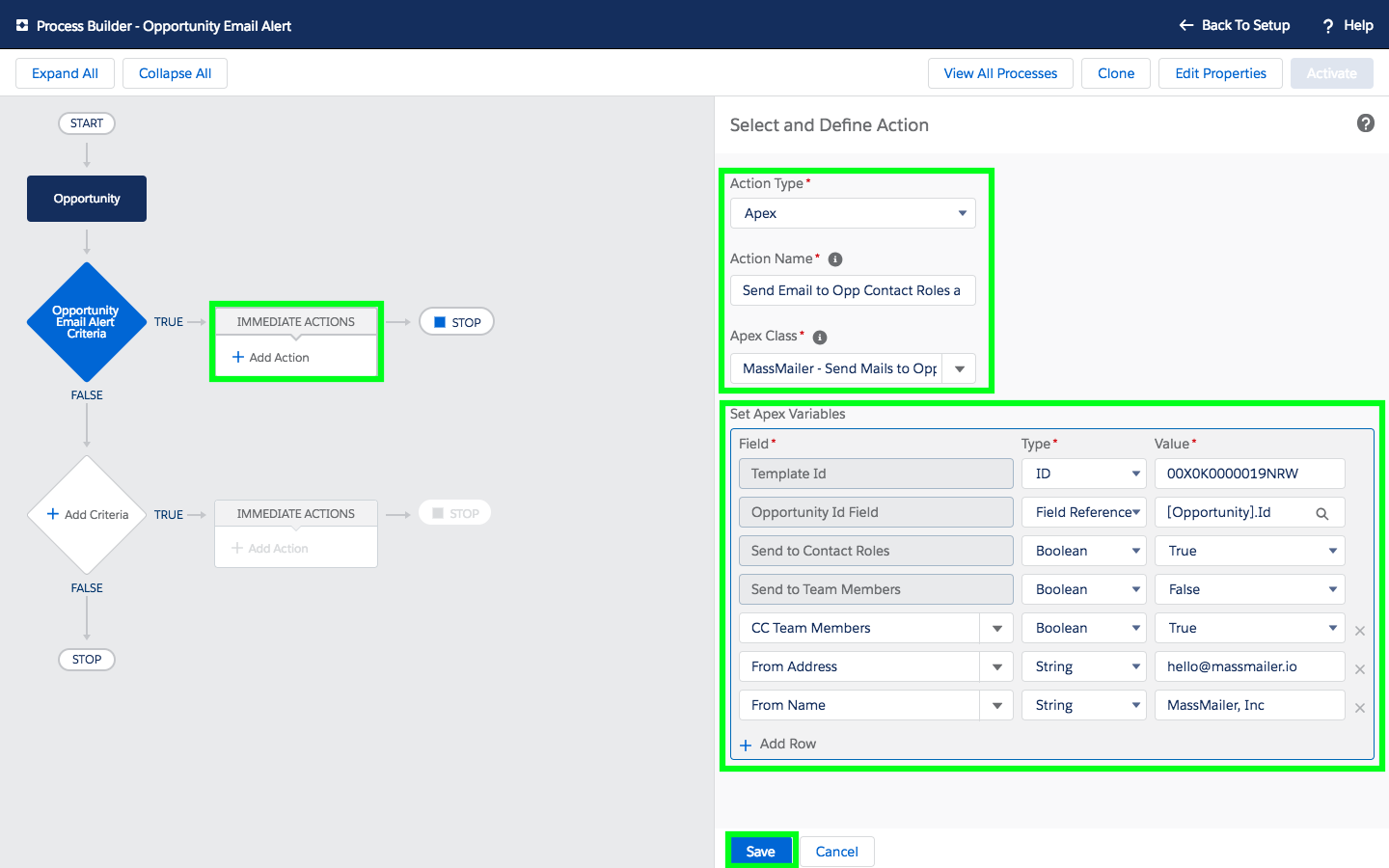 How to Send and Track Workflow Email Alerts to Opportunity