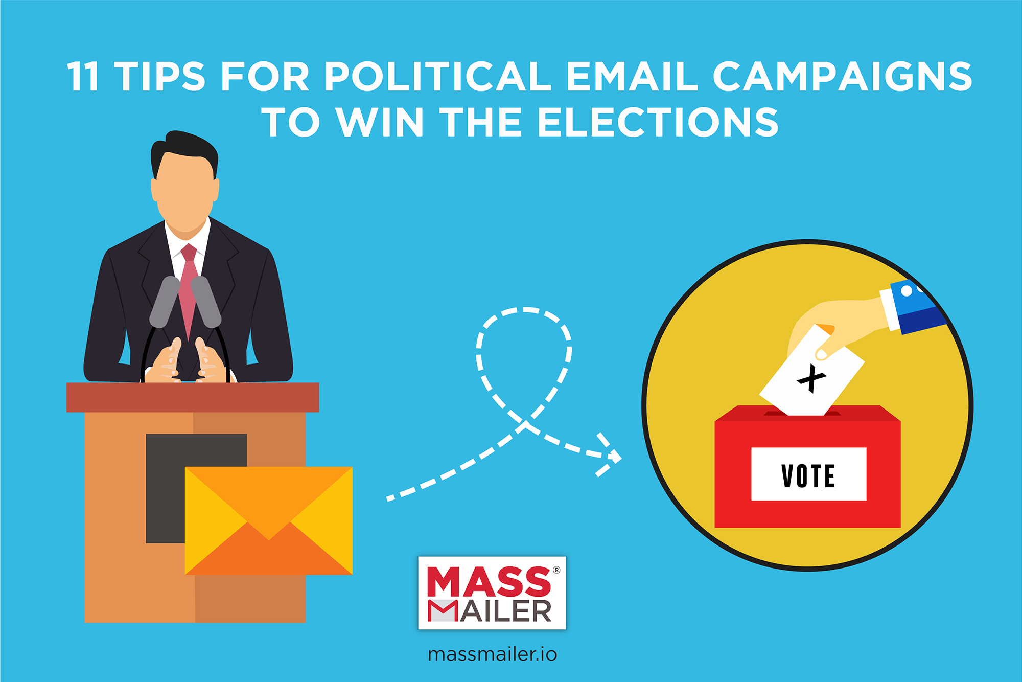 Tips for political email campaigns to win the elections
