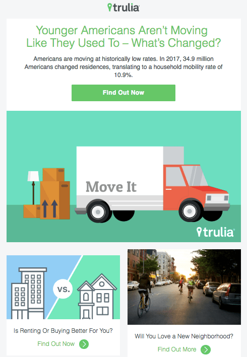 Newsletters by Trulia